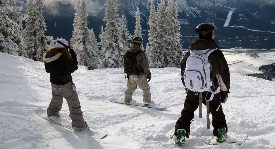 Snowboard Instructor Courses at Marmot Basin